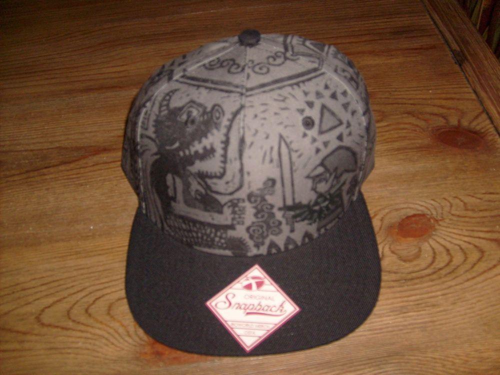 ZELDA NINTENDO ORIGINAL SNAPBACK FLAT BILL HAT CAP NEW SPENCER S  SPENCERS   BaseballCap 5c9575d72d36