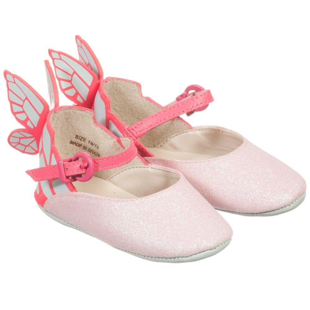 Baby Girls Pink Butterfly 'Chiara