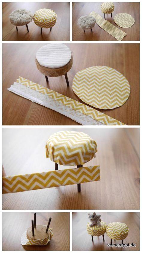 New DIY Furniture Ideas #dollfurniture