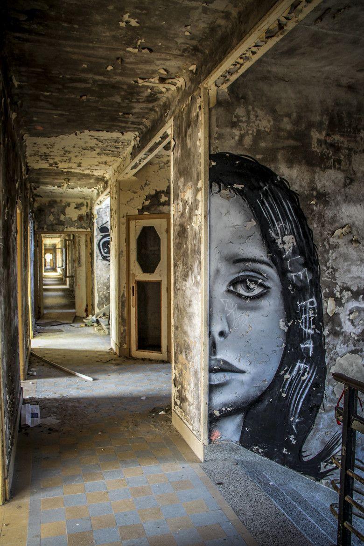 Abandoned Asylums, Abandoned, Street Art