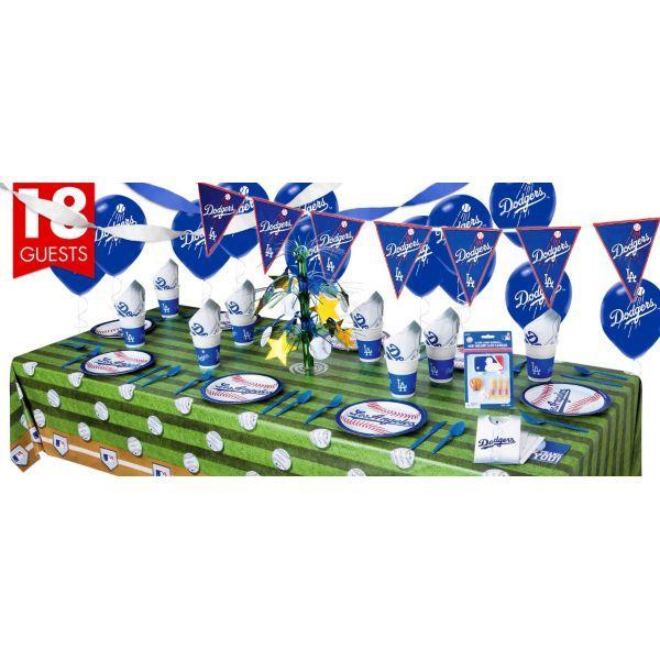 Los Angeles Dodgers Super Party Kit
