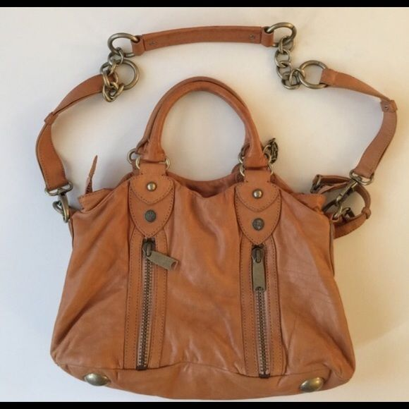 Cynthia Rowley Leather Shoulder Bag Very Nice With Strap See Pics For Wear Many Compartments I M Also Ing Same Style Purse In