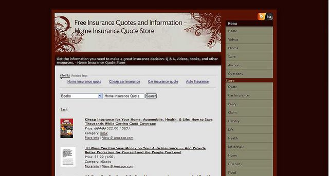 Home Insurance Quote Store Home Insurance Quotes Home Insurance
