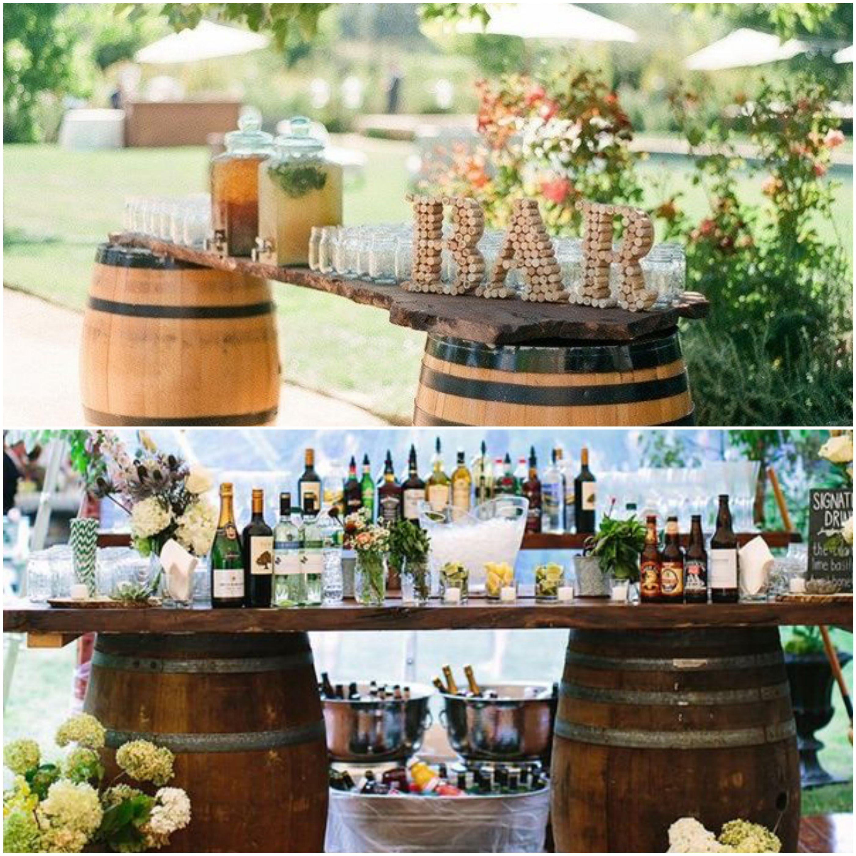 10 Creative Wedding Ideas to Use Wine Barrels Stylish Reception