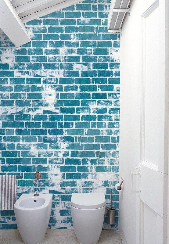 Tapete für ein fugenloses Bad (Foto Wall\Deco) Wohnen Pinterest - steinwand für badezimmer