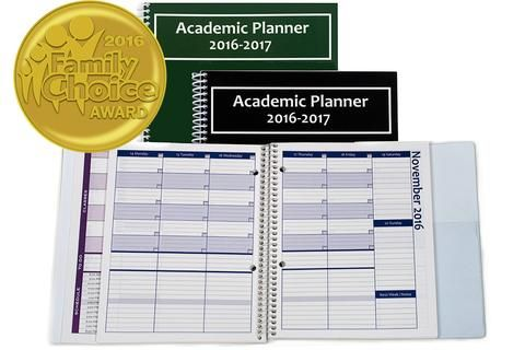 2017 2018 academic planner a tool for time management personal