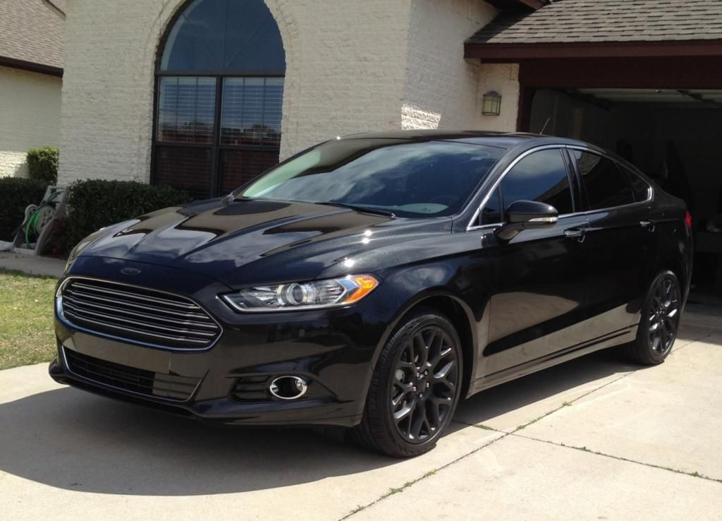 ford fusion forum view picture - 2015 Ford Fusion Titanium Black
