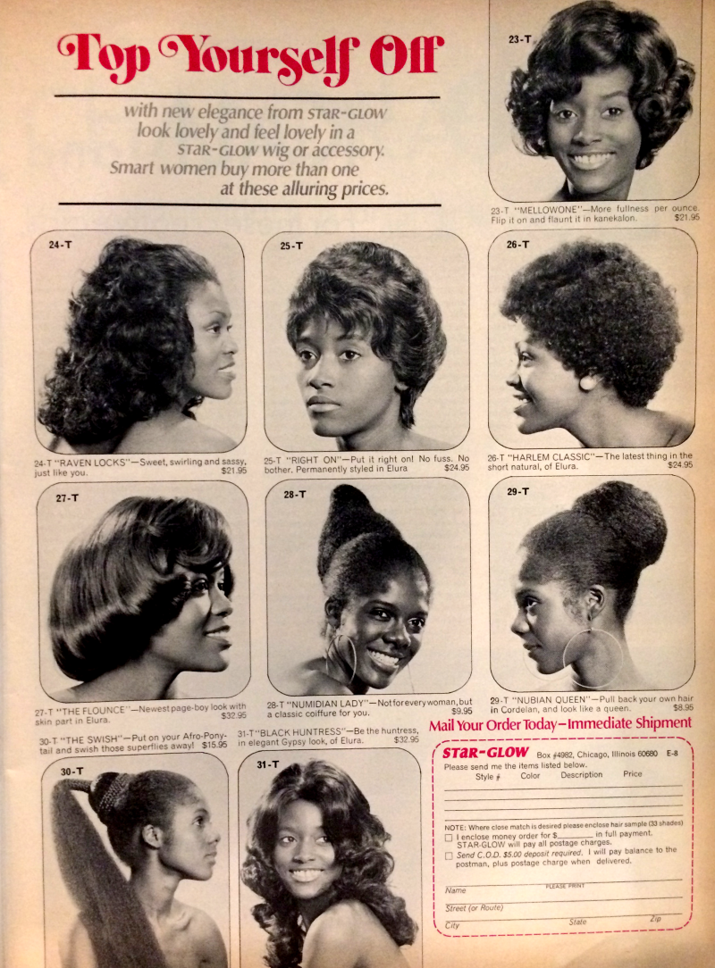 A Look Back At 4 Decades Of Black Hair And Beauty Ads Vintage Black Hair Salons Black Hair History African American Hairstyles