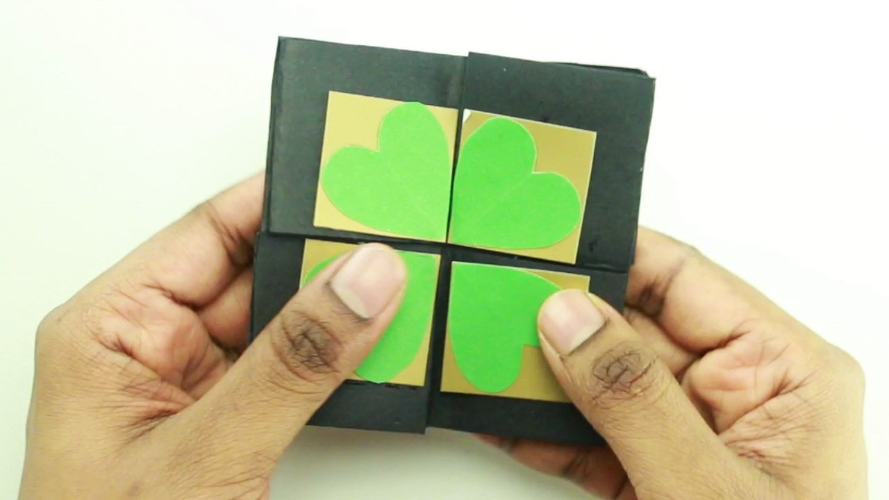 How To Make An Endless Card Without Glue Youtube With Images
