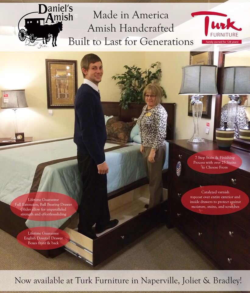 Solid Wood American Made Bedroom Furniture Daniels Amish Furniture Solid Wood And American Made Amish