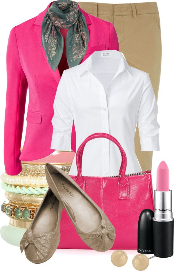 """PINKS & Spring~"" by tammylo-12 on Polyvore"