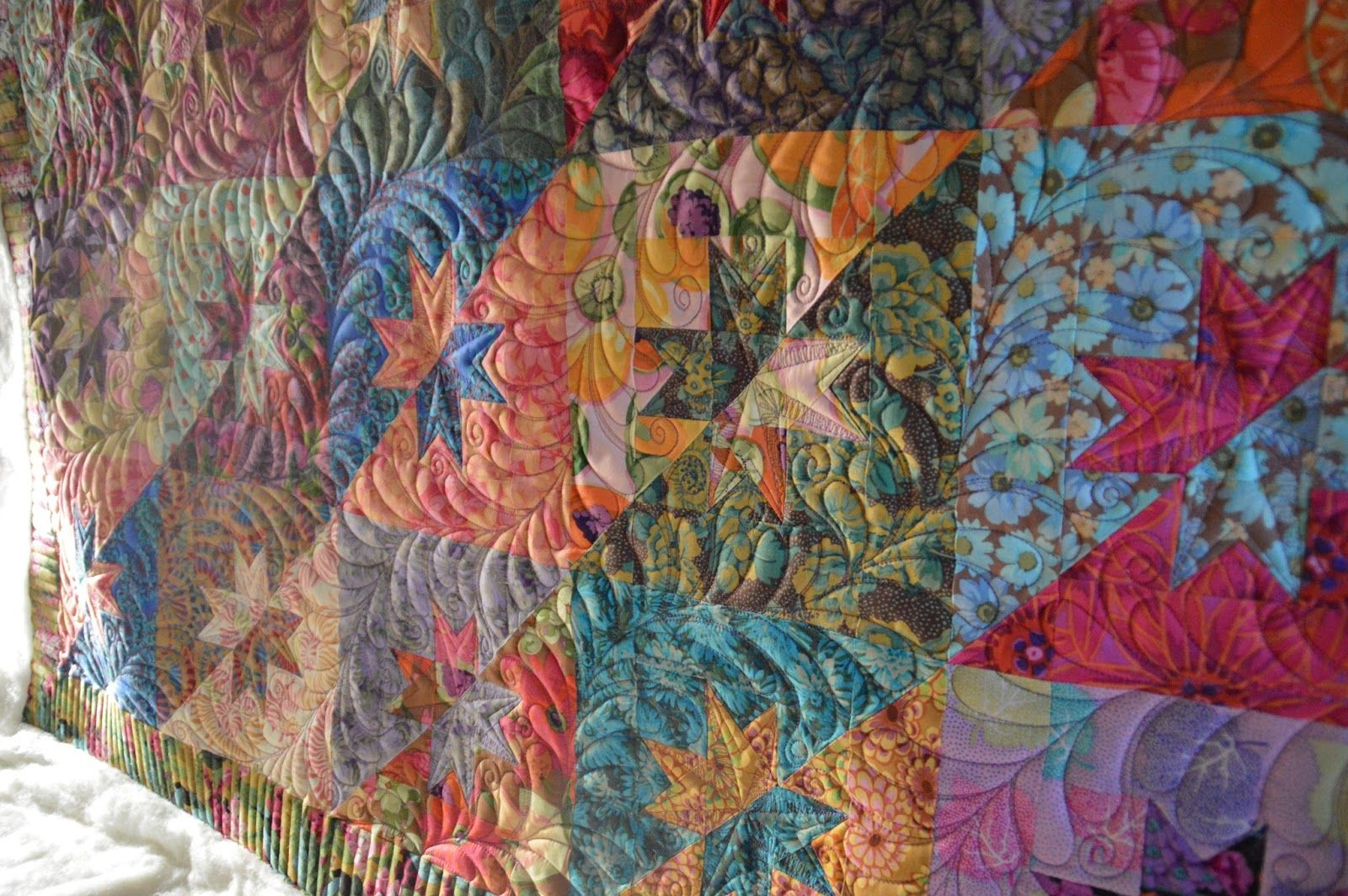 Creative Longarm Quilting by Karen Marchetti