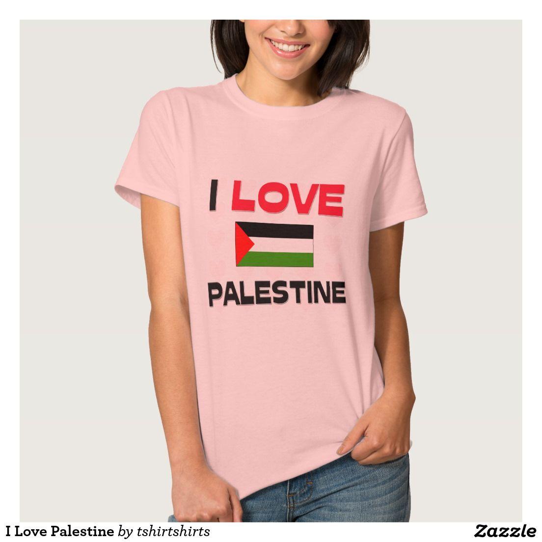 I Love Palestine T-shirts