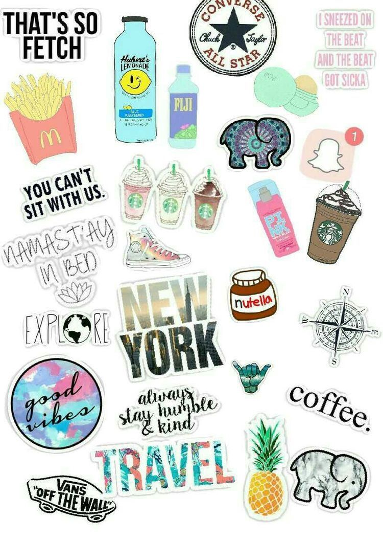 picture regarding Vsco Stickers Printable referred to as Printable Well known Aesthetic Vsco Stickers Dedemax