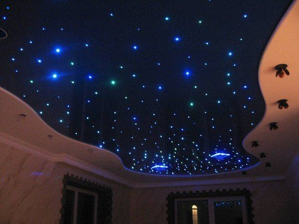 Star Lights Ceiling For The Home Theater Room Home Style - Star lights bedroom ceiling