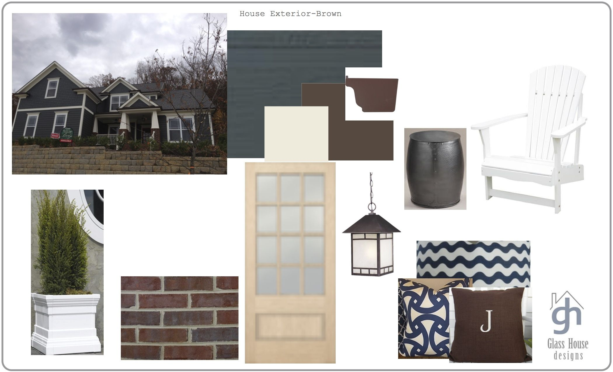 Surprising Front Door Color Ideas For Brown House Images - Ideas ...