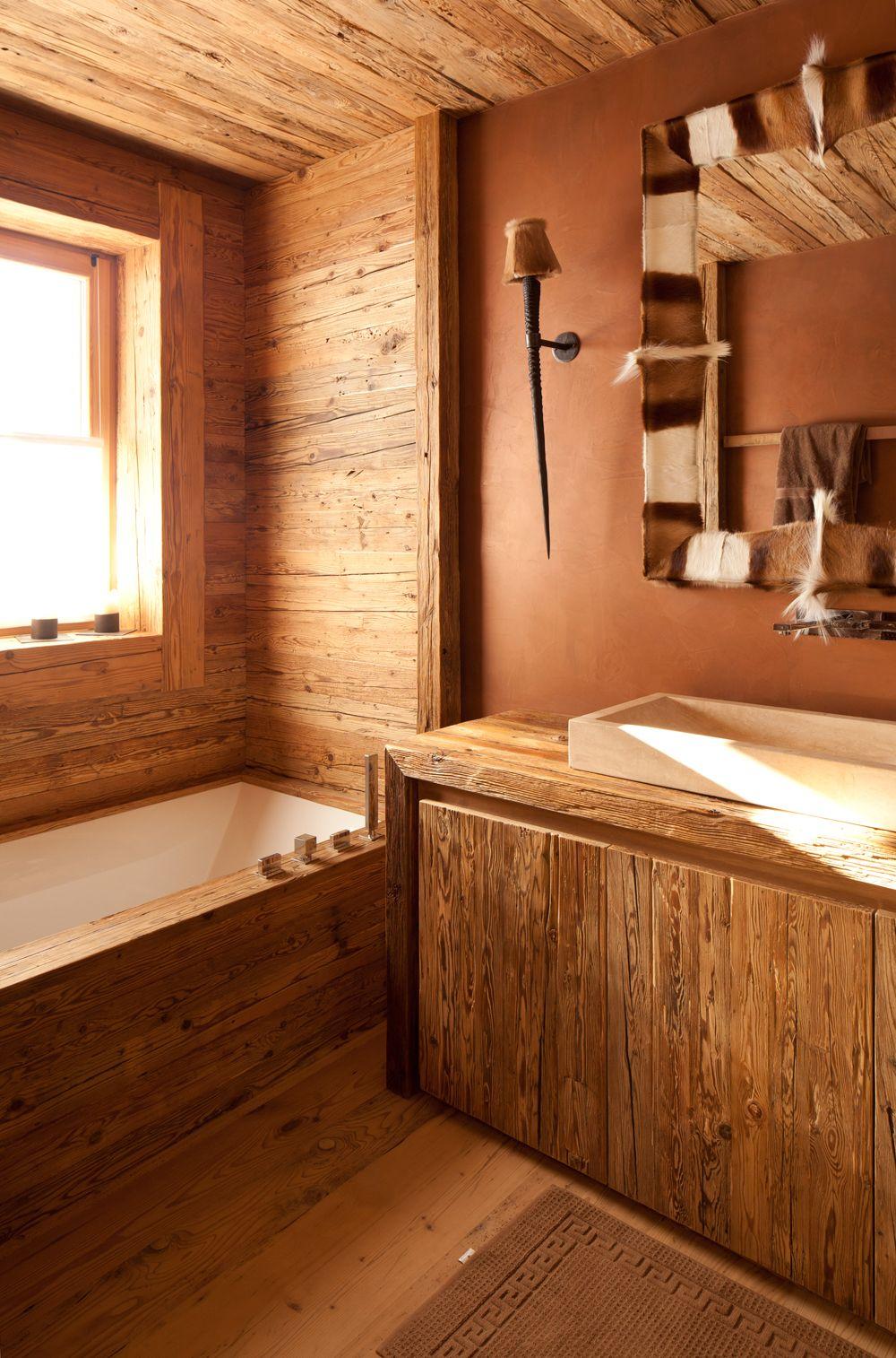 in den bergen zu hause  badewanne beton badewanne tolle