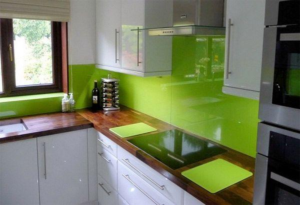 Entzuckend Glas Backsplash Küchen Glas Backsplash Ist Ein Design, Das Sehr Beliebt Ist  Heute. Design