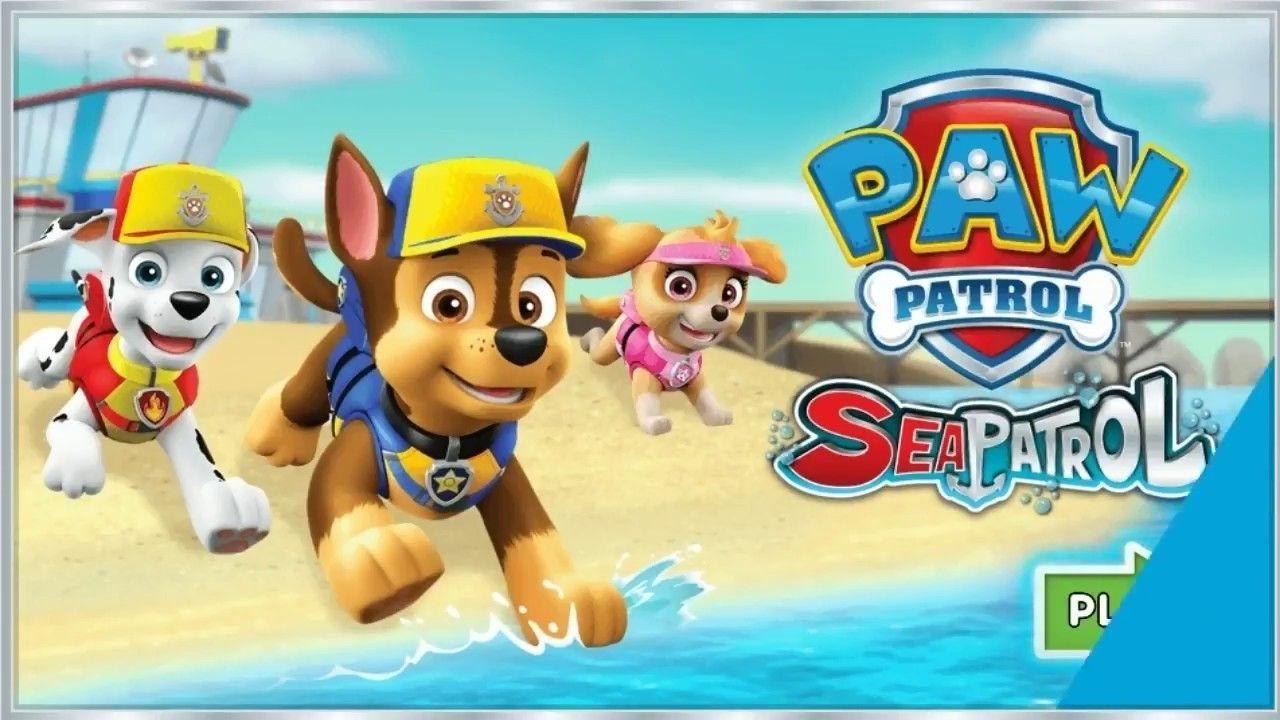 PAW Patrol Sea Patrol - Nick Jr.   Fun Kids Games   Gameplay for ...