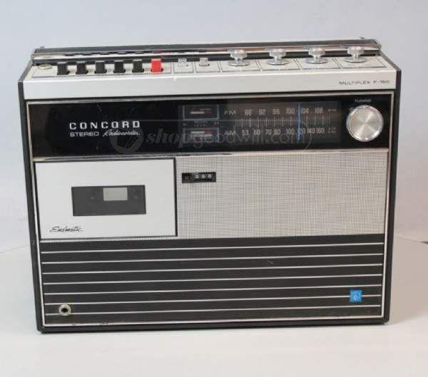 Concord Stereo Radiocorder Multiplex F150 in 2019