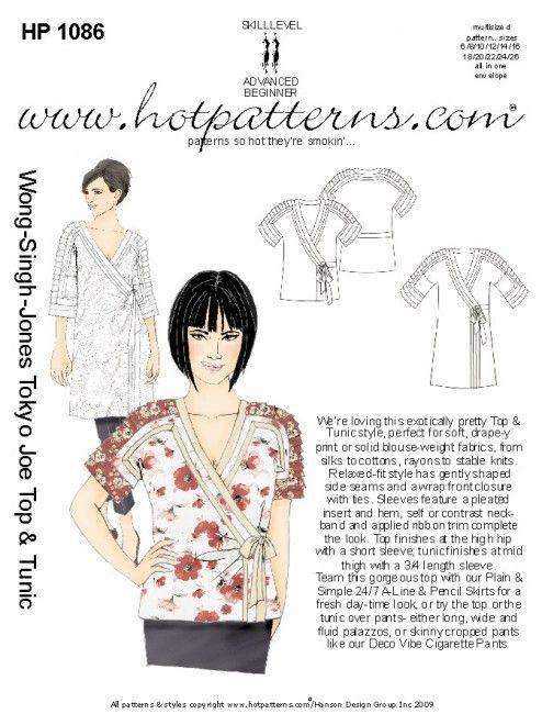 Cute tunic kimono-like   pachi   Pinterest   Costura