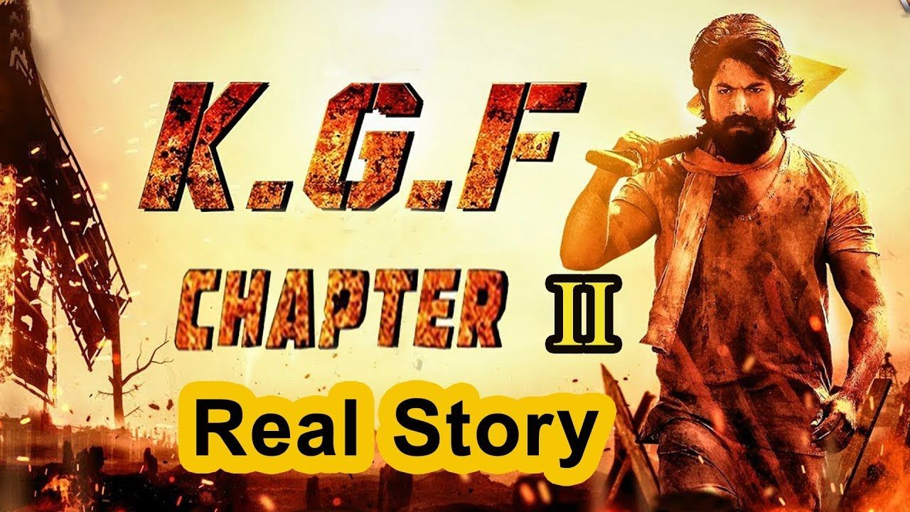 KGF Chapter 2   KGF Part 2 Full Story   KGF Real Story