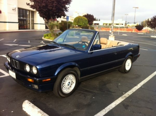 1992 bmw 3 series 325i convertible