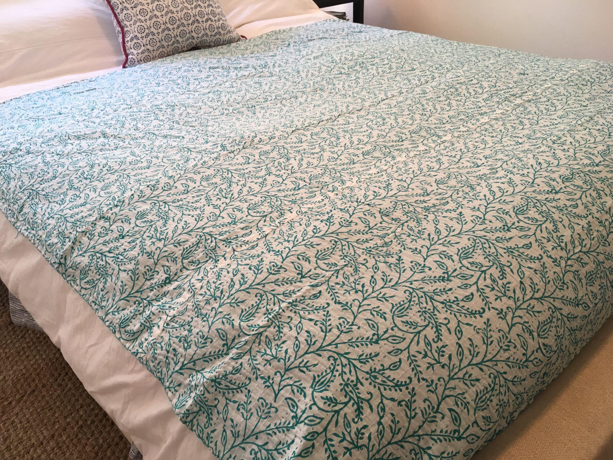 New Kantha Throw Blankets Kantha Throw Blanket Kantha Throw Kantha