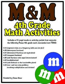 Mm 4th Grade Math Activities 4th Grade Math Pinterest 4th