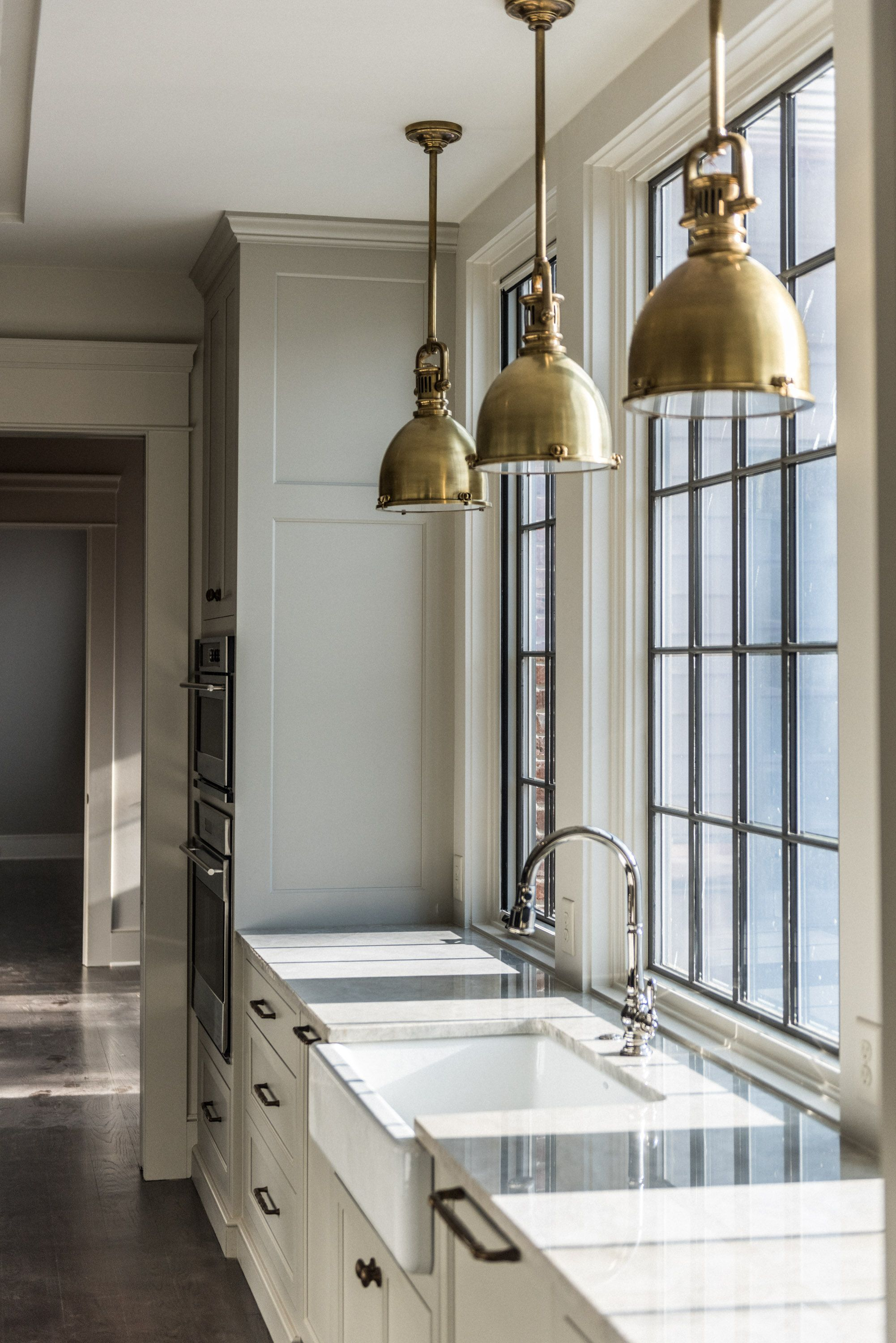 Christopher Architecture & Interiors - kitchen lighting - over the ...