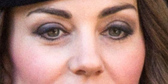 Duchess Catherine's eye makeup | Kate middleton makeup ...