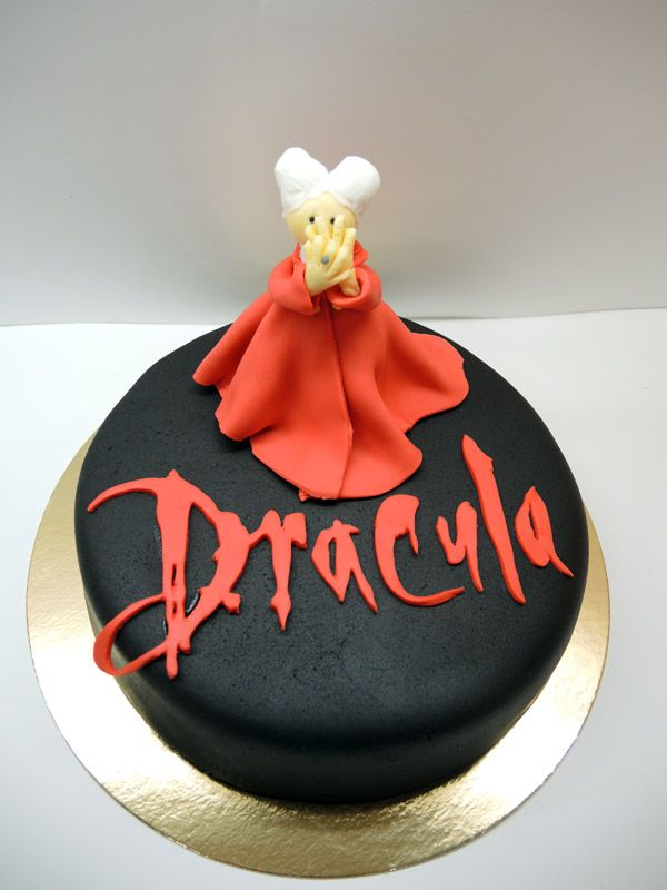 Dracula Cake Dracula Halloween Cakes Cake Birthday Cake