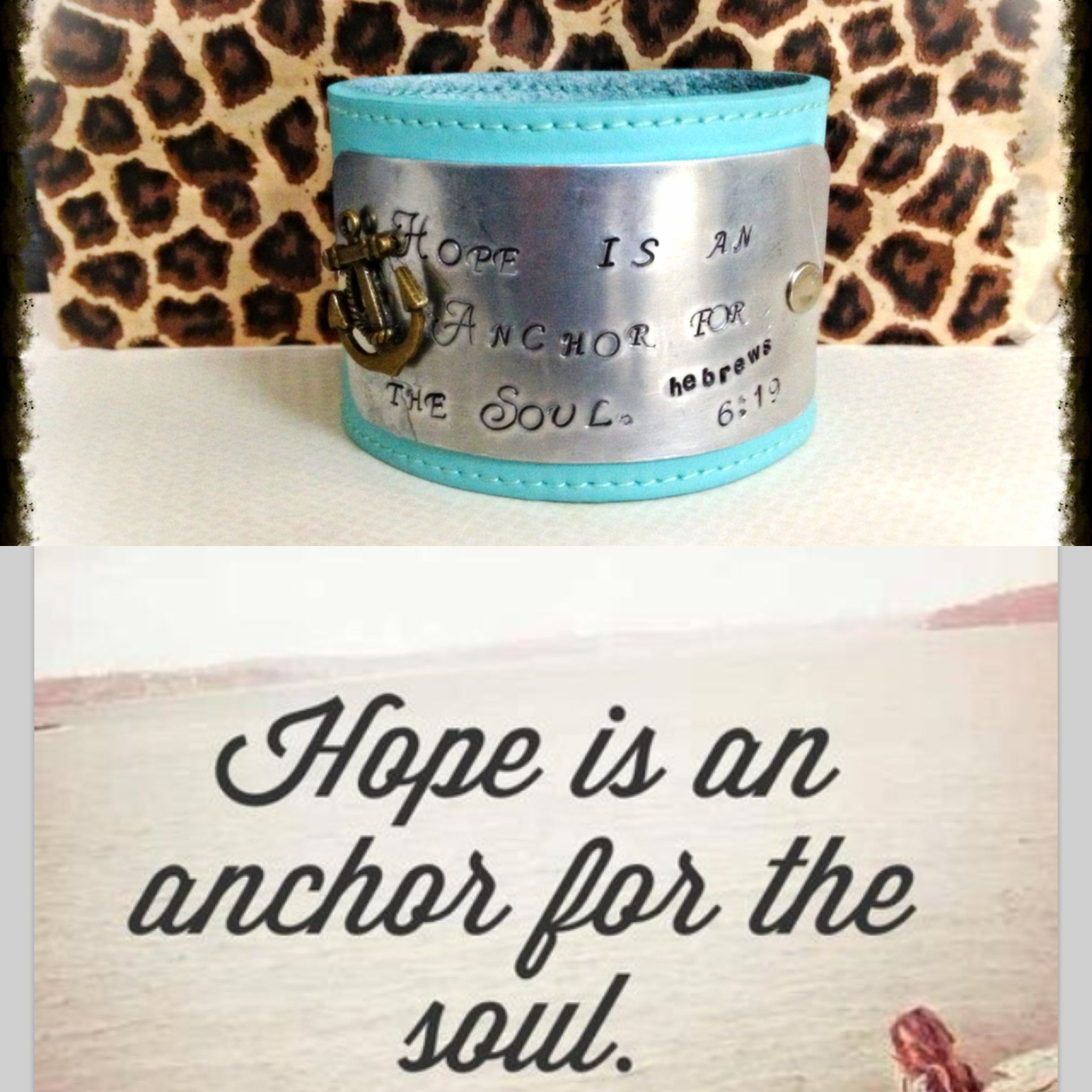 Hope is an Anchor for the Soul ⚓⚓⚓⚓ www.facebook.com/Zzscreations