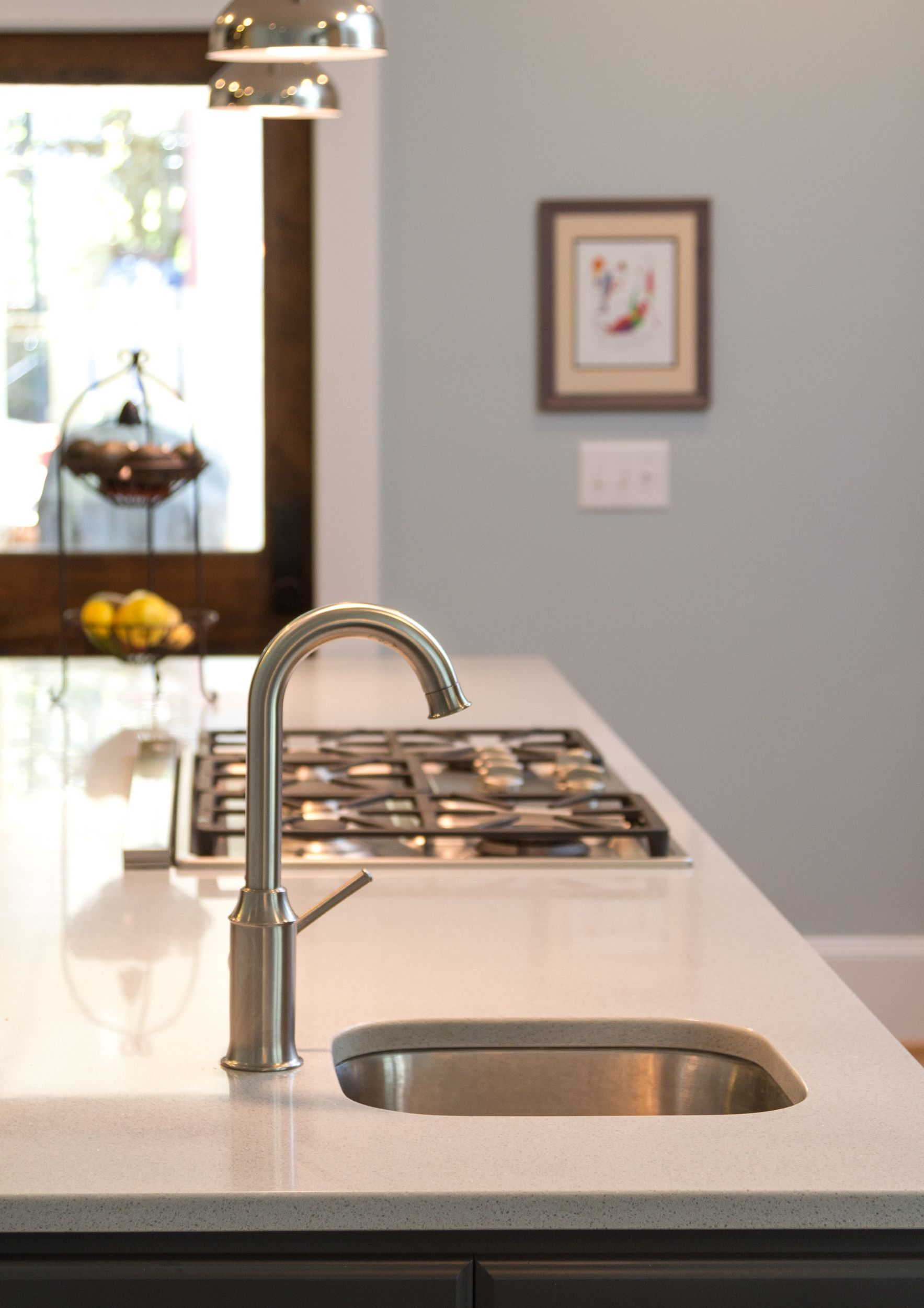 Hansgrohe Talis C Bar Faucet in Steel Optik Finish | Cameron Park ...