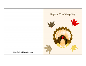 Happy Thanksgiving Card Printable Thanksgiving Cards Thanksgiving Printables Thanksgiving Greeting Cards