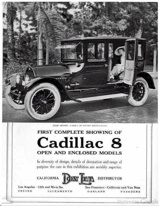 1916 Cadillac Ad   Motor Vehicles 1900-1920   Antique cars, Automobile, Vintage cars