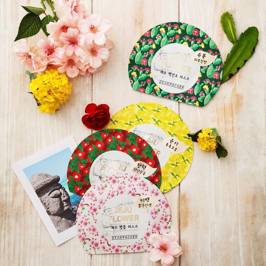 In This Wonderful Holiday Season Treat Yourself With These Colorful Dearpacker Jeju Flower Mask Sh Nature Collection Moisturizer For Dry Skin Nourishing Skin
