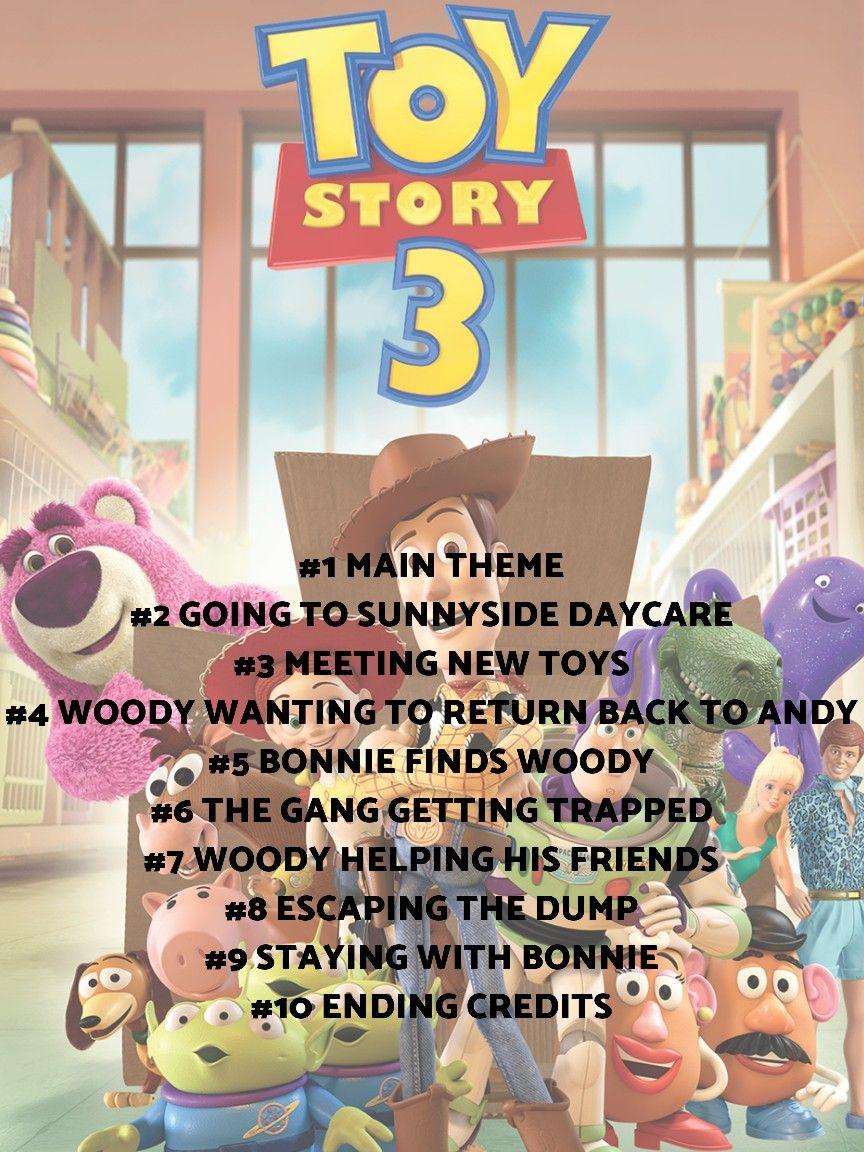 Toy Story 3 Sunnyside Daycare : story, sunnyside, daycare, Story, Playlist, Music, Playlist,
