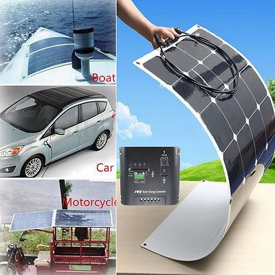 100~1000 Watt 18V Solar Panel Kits Semi Flexible Ultra-light