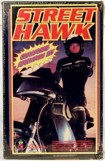 Street Hawk Colorforms Unopened 1984 (05/29/2008)   Street