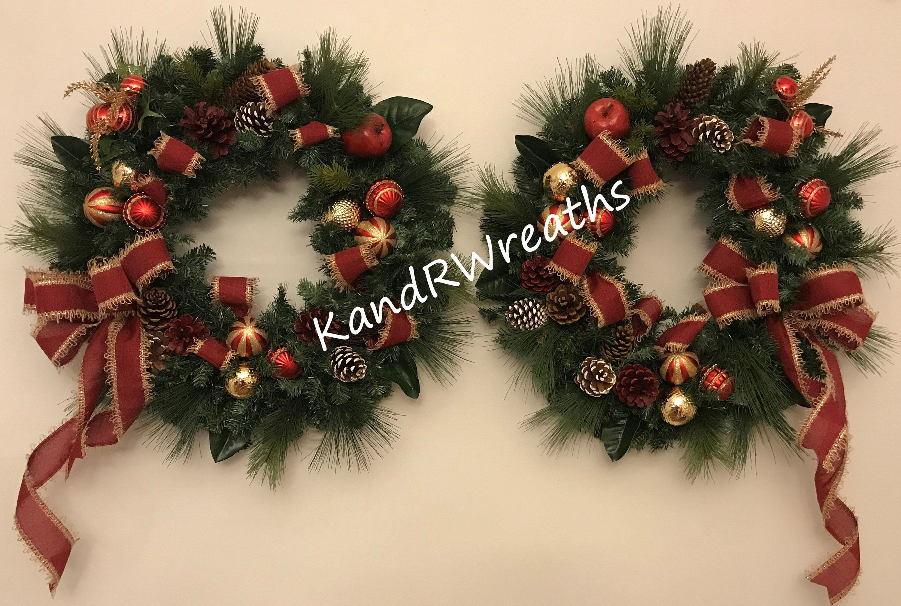 229C18 Double Door Christmas Wreath. Lighted Christmas Wreath. Double Door Holiday wreath. Double Front Door Wreath #doubledoorwreaths 229C18 Double Door Christmas Wreath. Lighted Christmas Wreath. Double Door Holiday wreath. Double Front Door Wreath. by KandRWreaths on Etsy #doubledoorwreaths
