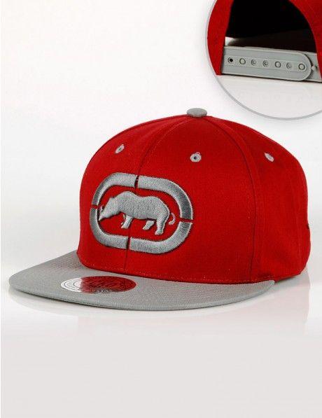 b57e082f304 Ecko Unltd. Logo Snapback Red Grey €30