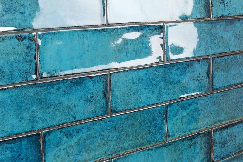 wall tiles 3x12 turquoise glass subway