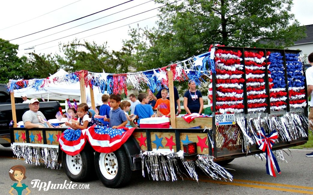 4th of july parade banner elk nc