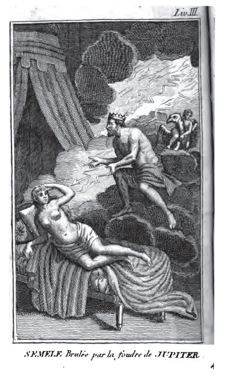 Ovid Illustrated: the Reception of Ovid's Metamorphoses in Image and Text--Univ. of Virginia Electronic Text Center. Semele
