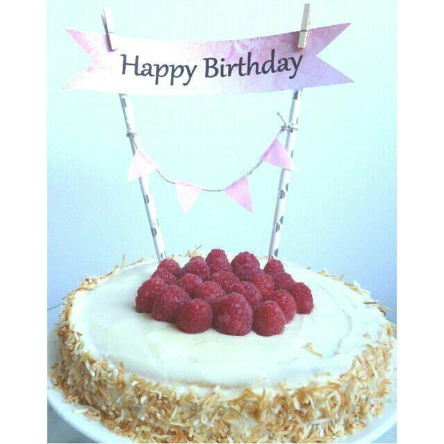 Diys Happy Birthday Cake Toppers For A Froufrou Cake Diys Diy