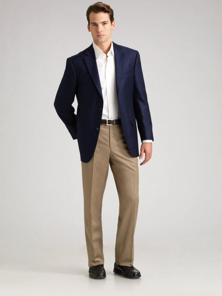 Images of Navy Blue Blazer Mens - Reikian