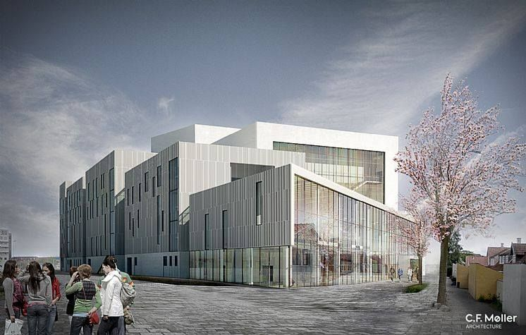 Cf Moller Designed Odeon Music And Theatre Hall In Odense