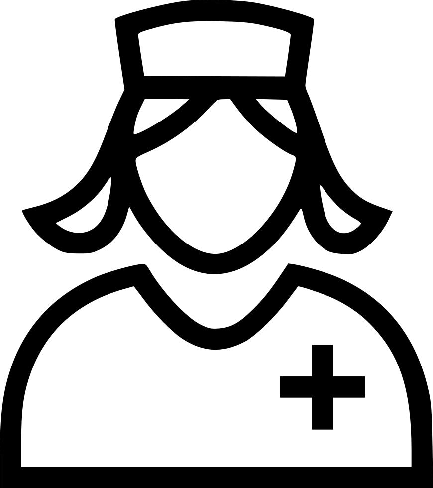 Nurse Svg Png Icon Free Download 507281 Onlinewebfonts Com Online Fonts Svg Popular Fonts