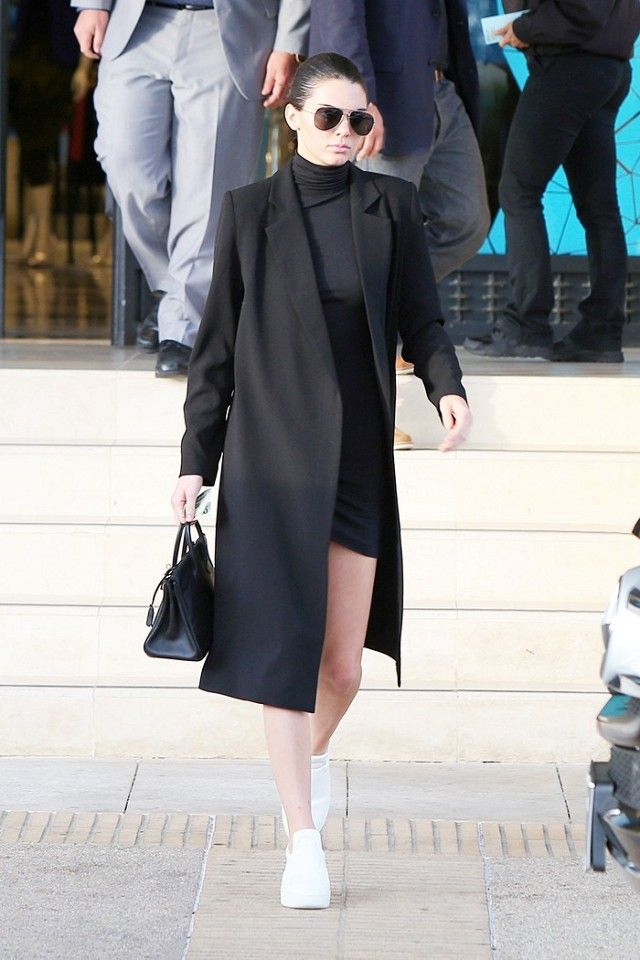 dd7d8197a69a53 The Cool White Sneakers Kendall Jenner Wore (and Will Live In ...